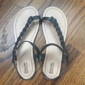 Mossimo Supply Co Braided Sandals